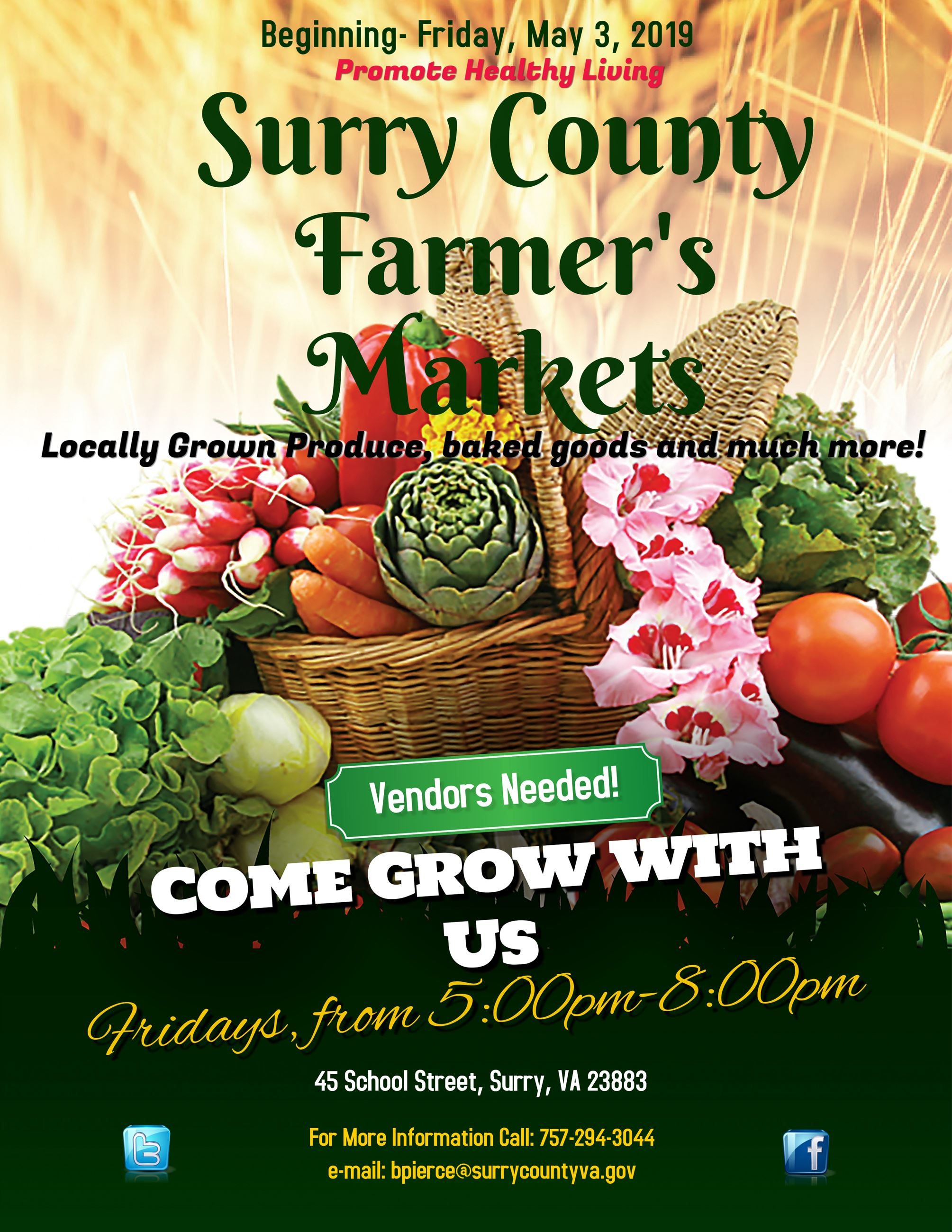 Copy of Farmers Markets Poster(2)