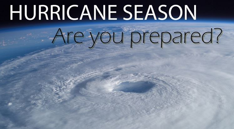 hurricane season - are you prepared